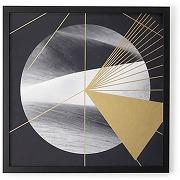 Gold desert, cadre décoratif