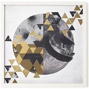 Golden perspective, cadre décoratif