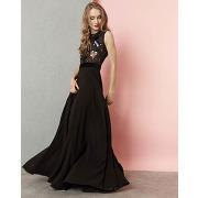 Manoush-femme-robe longue lovely bird noire-t.34