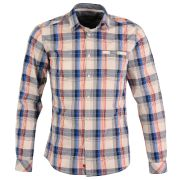 Chemise à carreaux coupe slim fit- chemises - vêtements - edc by esprit
