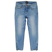 Jean skinny linett cropped bleu jean - leejean skinny linett cropped bleu jean - fille