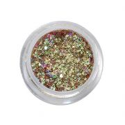 Paillettes ultra-scintillantes gel uv gold peggy sage 149561