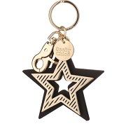 Porte-clefs étoiles see by chloé doré 100% métal en tu femme