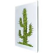 Cadre végétal design big signalis cactus miliboo