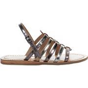 Nu-pieds fille - les tropeziennes - gris argent - millim