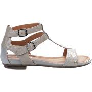 Nu pieds femme - karston - blanc argent - millim