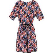 Robe courte thème floral - multicolore - femme - gerard darel - tailles disponibles: 38 - solde