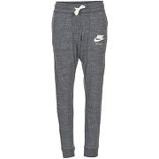 Jogging femmes nike gym vintage pant gris