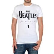 Tee shirt eleven paris beatles logo ts blanc