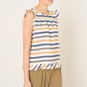 Soldes ! blouse raph - feminin - beige - berenice
