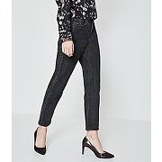 Mom jean femme jean noir - promod