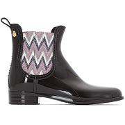 Soldes ! boots de pluie harper - - noir - lemon jelly