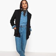 Veste blazer milano noir-noir-34-femme > vêtements > veste, blouson > blouson