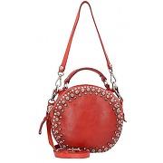 Campomaggi mini bag sac bandoulière cuir 18 cm rosso