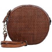 Campomaggi prestige edera mini bag sac bandoulière cuir 18 cm cognac