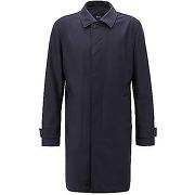 Manteau travel line en laine vierge avec doublure perforée