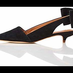 Find. suede kitten heel escarpins, noir black),...