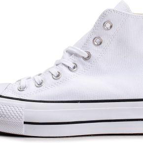 Streetwear converse chuck taylor lift hi blanc...