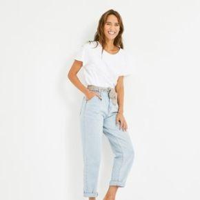Jean oversize ceinturé oscar jean clair - promod