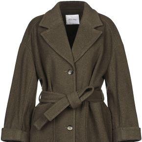 Manteau long american vintage femme. vert...