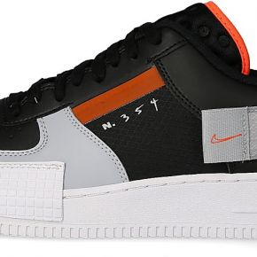 Nike homme air force 1 type noire baskets