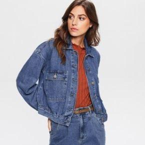 Veste en jean femme jean moyen - promod