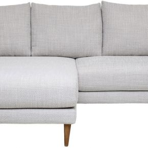Miles - canapé d'angle réversible en tissu