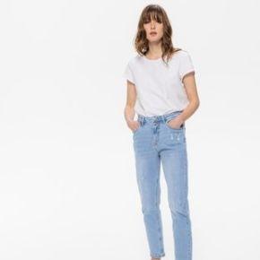 Jean mom taille haute marcel jean moyen - promod