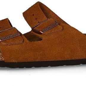 Birkenstock femme sandales arizona suede marron...