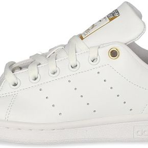 Adidas stan smith femme blanche argent et or...
