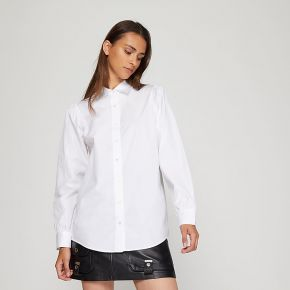 Chemise royal droite popeline coton blanc the...
