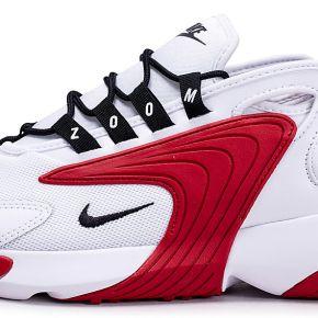 Nike homme zoom 2k blanche et rouge baskets