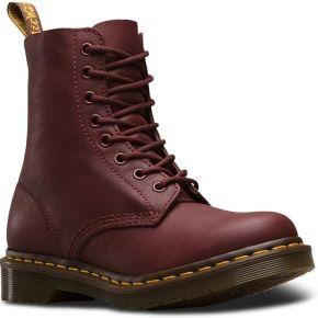 Boots dr. martens 1460 pascal virginia grenat