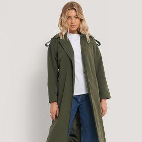 Trendyol trench - green