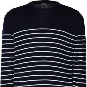 Pullover 8 by yoox homme. bleu foncé. s...