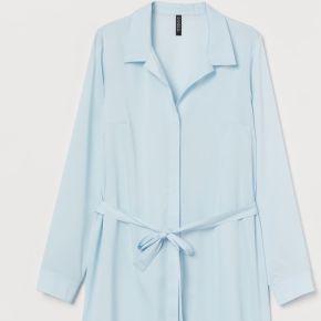 H & m - robe chemise courte - turquoise