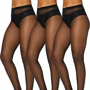 Iris & lilly by wolford collants femme, lot de...