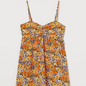 H & m - robe courte - orange