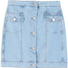 For the story skirt jupe en jean c/meo...
