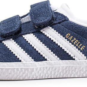 Adidas gazelle bébé bleu marine baskets