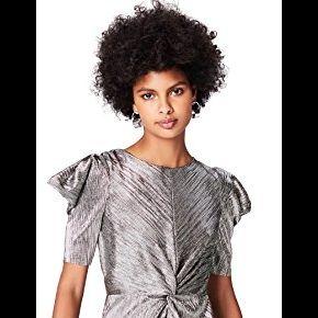 Find. az008 robe de soirée, argenté (silber),...