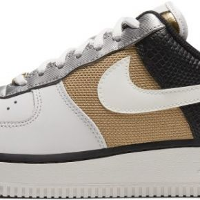 Chaussure nike air force 1'07 pour femme - gris