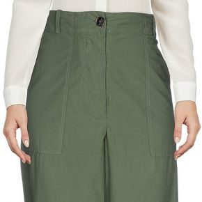 Pantalon erika cavallini femme. vert militaire....