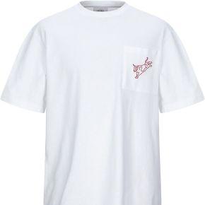 T-shirt calvin klein jeans homme. blanc. s...
