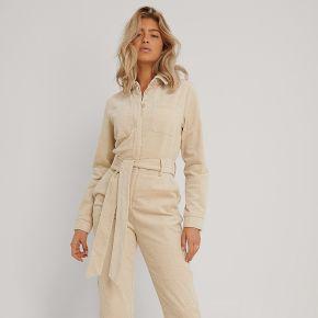 Na-kd trend combinaison pantalon - beige