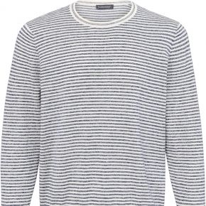Le pull à rayures louis sayn bleu taille 56