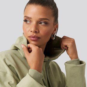 Na-kd basic hoodie basique - green