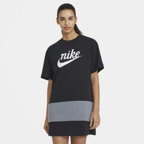 Robe nike sportswear varsity pour femme - noir