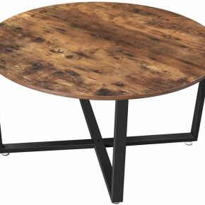 Vasagle table basse ronde, table de salon,...