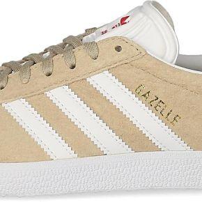 Tennis adidas gazelle og femme beige et blanche